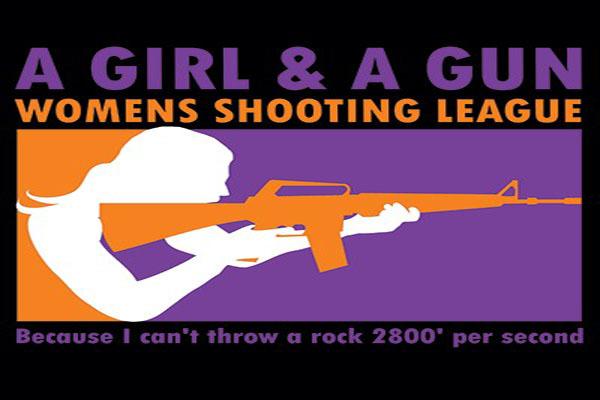 A Girl and A Gun, Women's Shooting League, Women Gun Owners