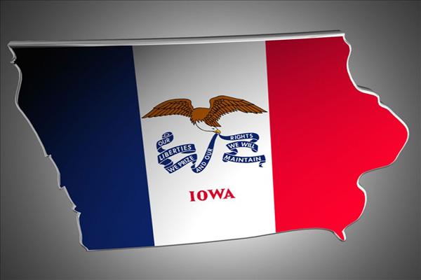 Iowa, State Flag