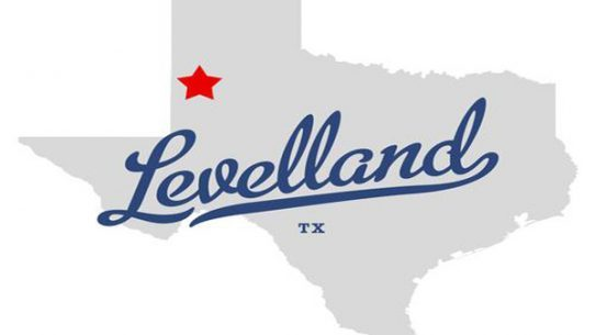Levelland, Texas, State Map