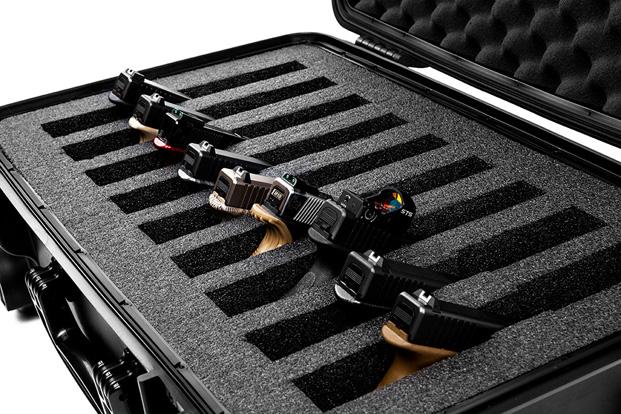 Quick Fire 9-Gun Pistol Case 2