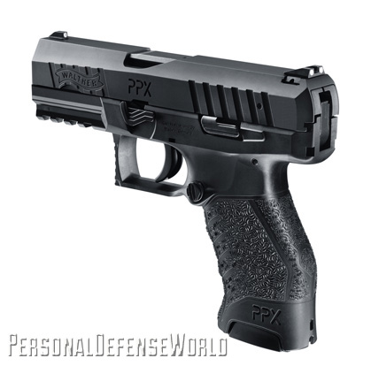 Walther PPX rear