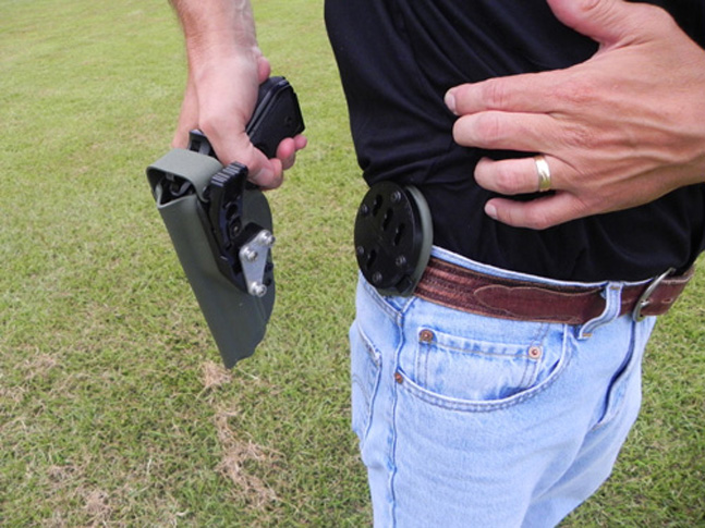 XST RTI Kydex Holster Off the hip