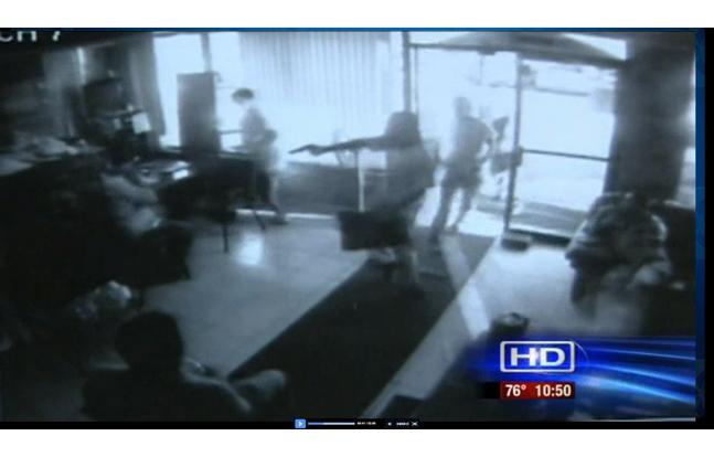 gunfight caught on video