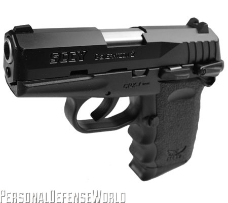 TOP CONCEALED CARRY HANDGUNS - SCCY CPX-1 Left Side