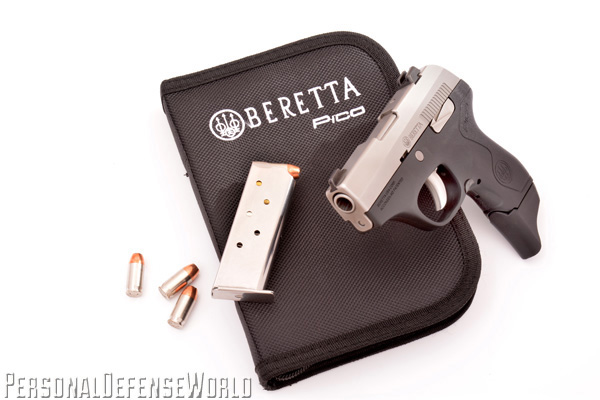 TOP 12 CONCEALED CARRY HANDGUNS - Beretta Pico With Magazine
