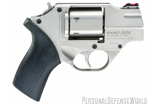 TOP 12 CONCEALED CARRY HANDGUNS - Chiappa Rhino 20DS Chrome