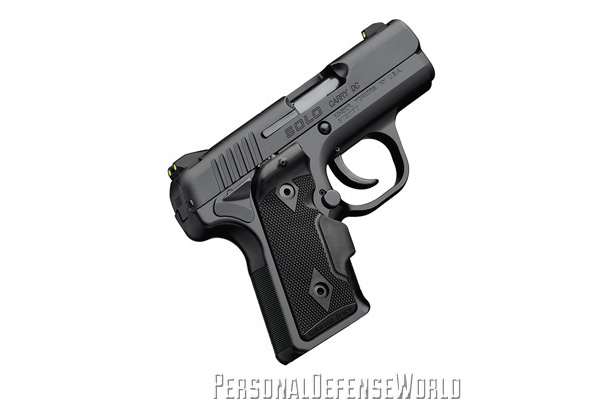 TOP 12 CONCEALED CARRY HANDGUNS - Kimber Solo Carry DC (LG) Right Side