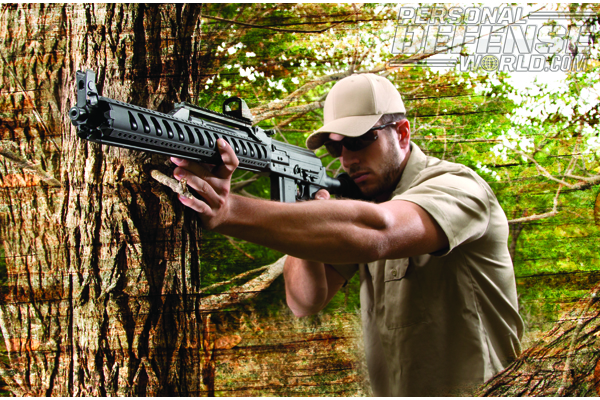 The ATI/MOLOT VEPR shown here with EOTech's MRDS sight.