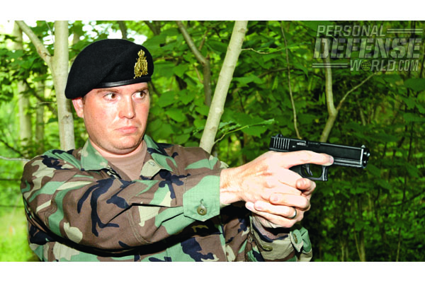 Luxembourgian soldiers began using GLOCK pistols in 2008. The widespread military use of GLOCK pistols, along with the many desirable features of the GLOCK design, undoubtedly played an important role in the selection of GLOCK by the Luxembourg Army.