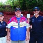 The GLOCK Champs. from Left to Right, Randi Rogers, Butch Barton and Dave Sevigny.