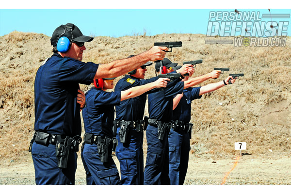 qualifying scores immediately went up when shooting GLOCK pistols when compared to the formerly issued handgun made by a different manufacturer.
