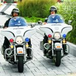 related calls-for-service and assists precinct units as needed. The motorcycle unit also participates in all parades within the city, marathons and other races and provides dignitary protection escorts.