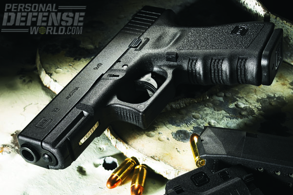 The reliable GLOCK 19 shoots a variety of 9x19 ammunition, including low recoil rounds and stouter, high velocity ammunition, giving the owner a wide range of choices.