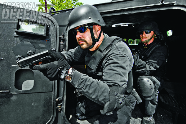 Members of the Sheriff's Emergency Response Team rely on their chosen weapon for regular duty—GLOCK.
