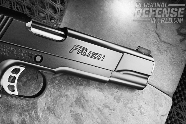 Combining advanced design features with an ever-increasing standard of performance, Nighthawk's Falcon is one of the newest of their already exceptional pistols.