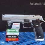 Sig's next-gen X-Six 9mm match king reigns supreme with top-notch gaming enhancements!