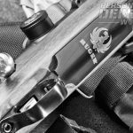 Nicely engraved steel magazine floorplate is a welcome touch on the new Compact Magnum.