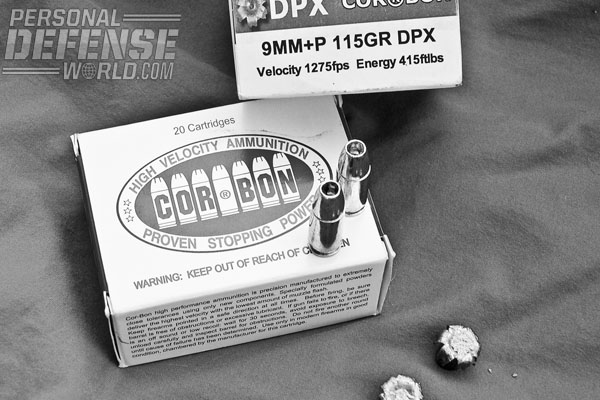 All copper DPX hollow points from CorBon expanded every time when fired through a heavy clothing barrier into ballistic gelatin.