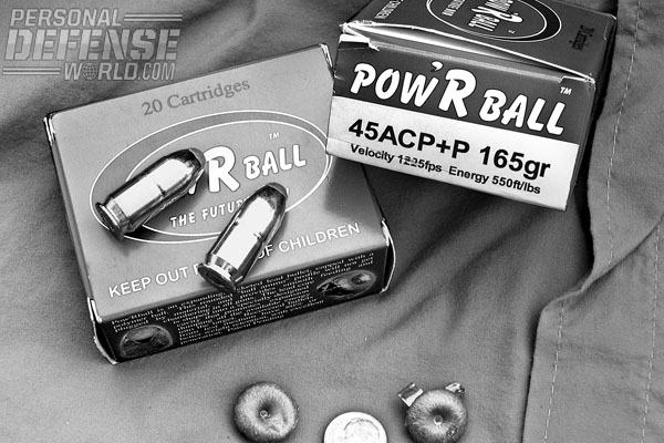 CorBon Pow'RBall is a viable alternative to hollow points.