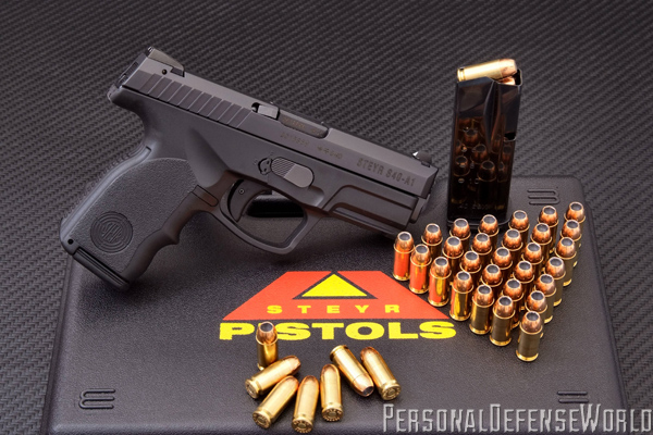 Top Pocket Pistols - Steyr S40-A1