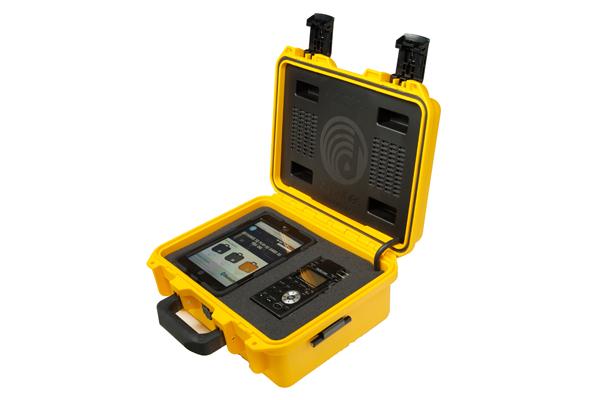 Drytunes Wireless Speaker in Yellow