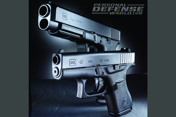 Glock 41 Gen4 and Glock 42