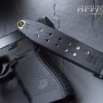 Glock 41 Gen4 carries 13 rounds of .45 ACP