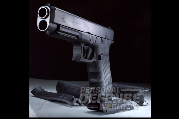 New Glock 41 Gen4 with Backstraps
