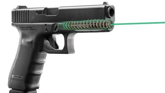 LaserMax Green Guide Rod Laser for Glock Pistols