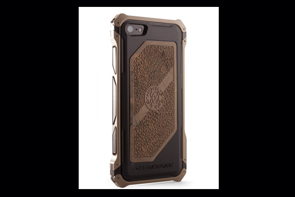 HEC iPhone 5 Sector 5 | Black-Ops Dark Earth-Aluminum-Frame with Ghillie Tan Cobblestone Rubber