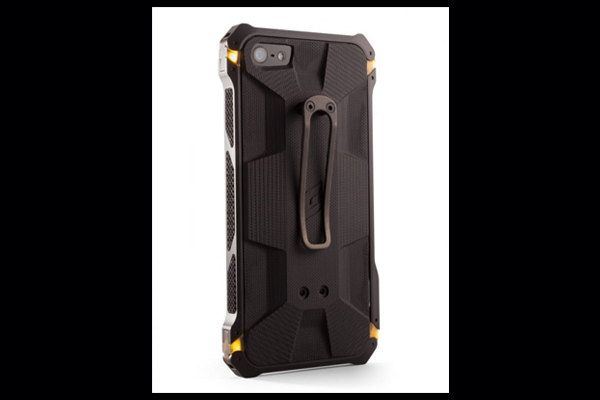 HEC iPhone 5 Sector 5 | Black-Ops Elite Black-Aluminum-Frame with G10 G-Mascus Solid Black