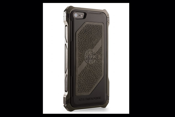 HEC iPhone 5 Sector 5 | Black-Ops Elite OD Green Aluminum-Frame with Ghillie Green Cobblestone Rubber