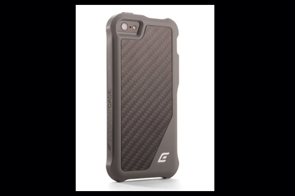 HEC ION-5 Black Ops-Grey TPU Cover with Matte Carbon Fiber