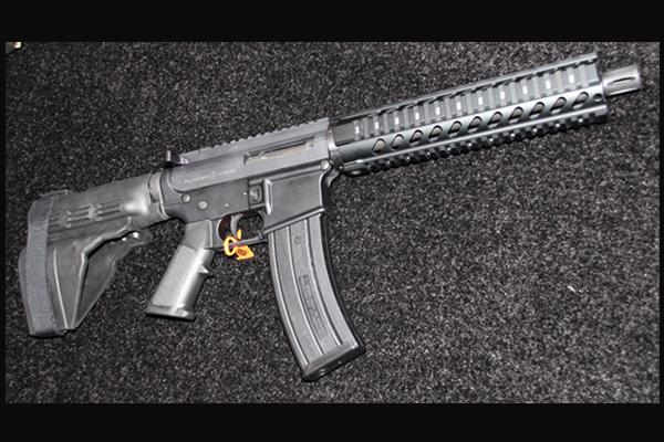Plinker Arms .22 AR Pistol