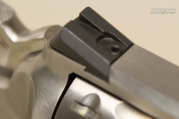 Ruger GP100 Match Champion - Rear Sight