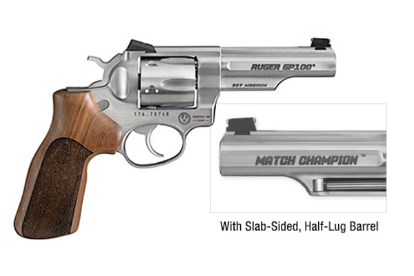 Ruger's GP100 Match Champion Double-Action Revolver