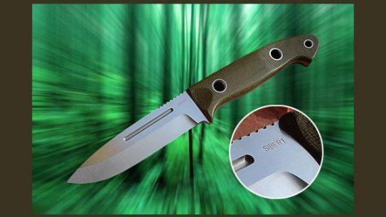 Sibert Knives' Cascadia Bushmaster Knife