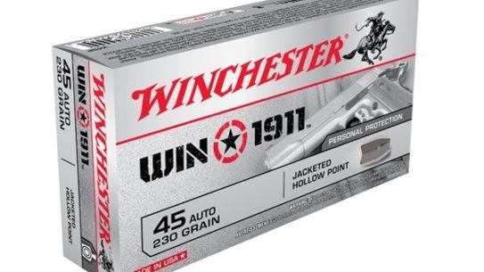 Winchester's Win 1911 .45 ACP Ammo