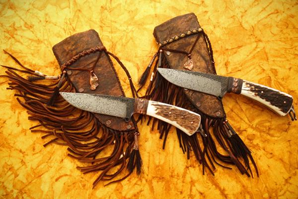 Levi Graham Knives Sunrise Hunter Pair
