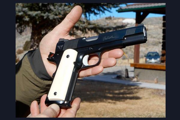 Wilson Combat Hackathorn Special 1911 | .45 ACP Ivory Grip