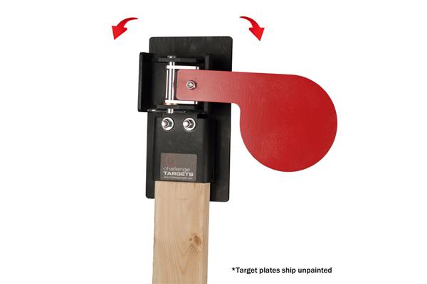 Handgun Paddle Target
