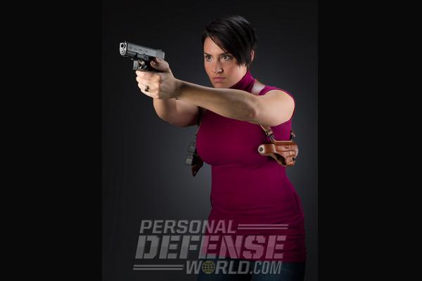 Ladies Only: Shoulder Holster Security