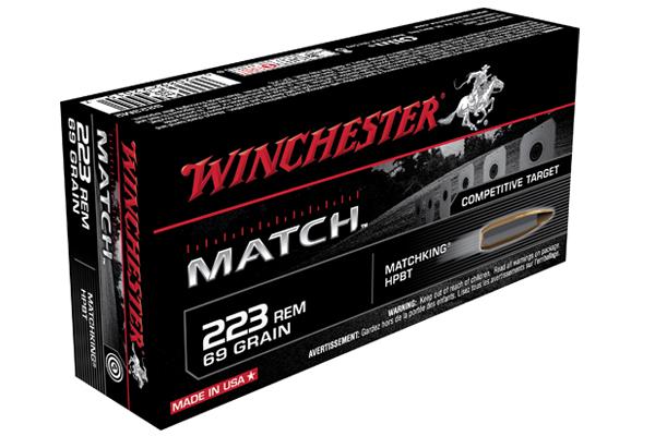 Winchester Match 223 REM Ammo