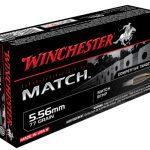 Winchester Match 5.56 mm Ammo