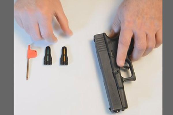 T.A.C. J Sight for Glocks