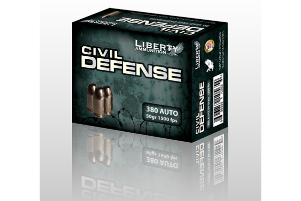 Liberty Ammunition Civil Defense .380 Auto