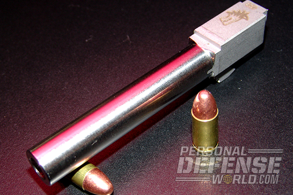 10 Ways to Customize Your Glock - Lone Wolf 9mm Barrel