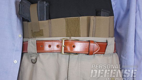 Hideaway Holsters: 8 Ways to Covertly Carry Your Weapon - Belly Band Carry