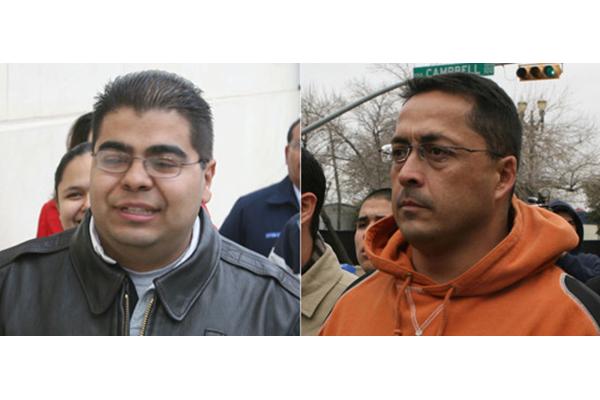 Jose Alonso Compean and Ignacio Ramos
