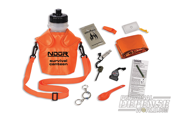 Top 20 New High-Tech Survival Products - ProForce NDUR Survival Canteen Kit